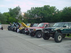 Porky's Ride Night in Des Moines, IA  7/8/05