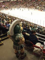 CCHA Sparty overlook