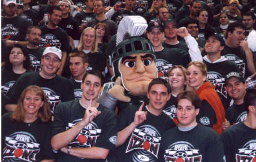 Sparty in Izzone '99