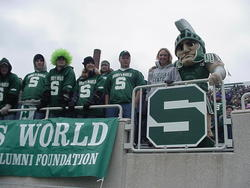 Sparty in Bobby's World 2001