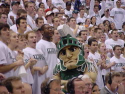 Sparty in the Izzone 2002
