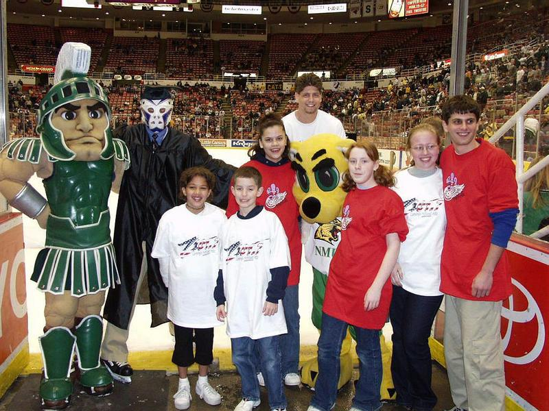 CCHA Sparty icegroup