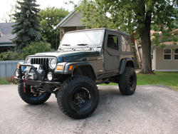 Jeep on 35's